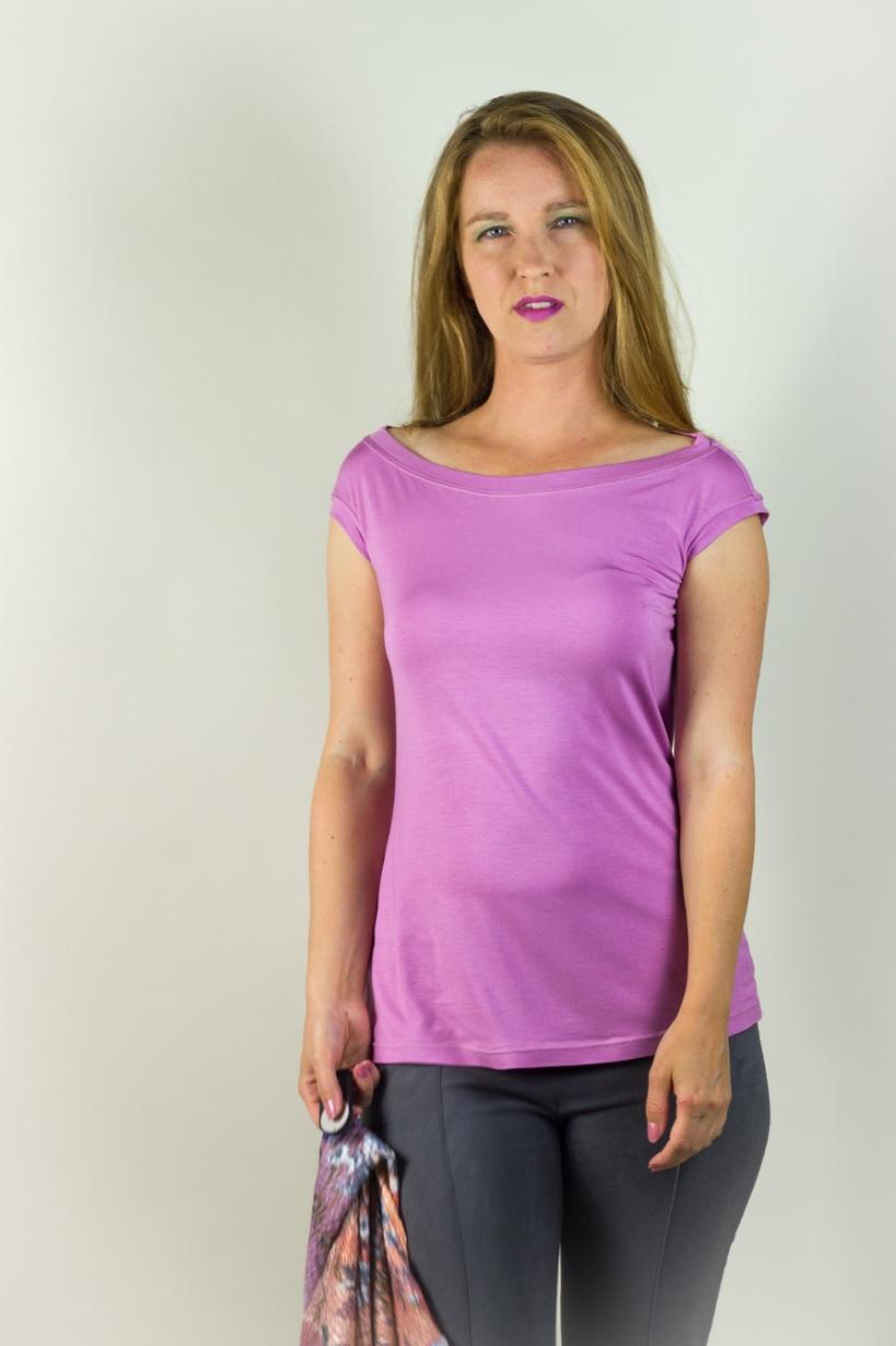 Ivonne Jendreck Miss Audrey Shirt fuchsia 36-4